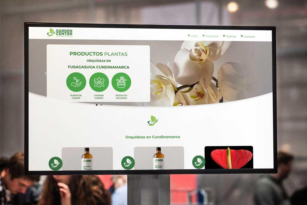 Página Web Jardinería 2021 Bogotá