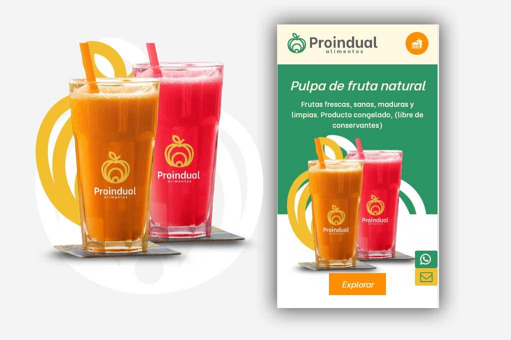 Página Web Alimentos 2021 Bogotá